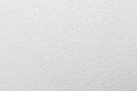 expanded: White foam sheet texture background