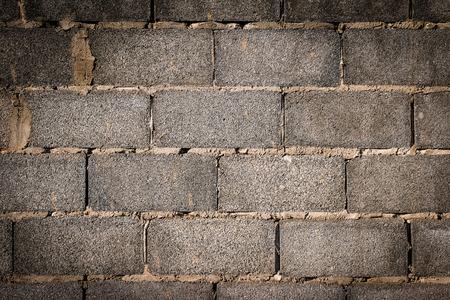 masonary: Old Gray concrete construction blocks background