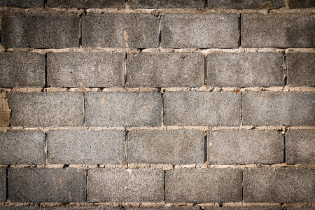 masonary: Old Gray concrete construction blocks background