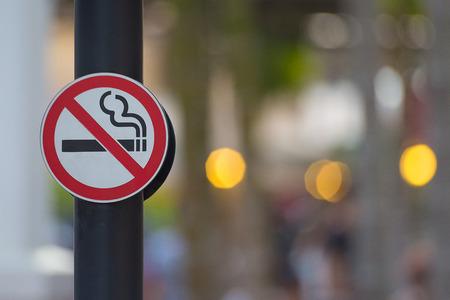 interdiction: Aucun signe de fumer fond