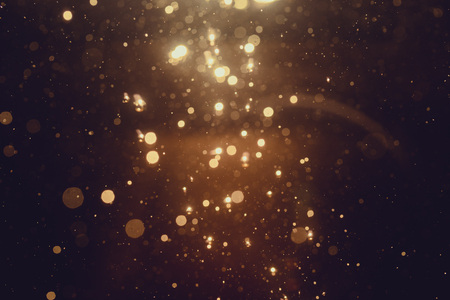 Gold abstract bokeh background Stok Fotoğraf - 65406284