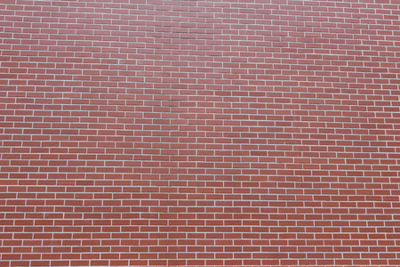 solid background: Wall of red brick background