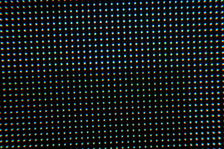 Close up of led dot in the screen background 写真素材