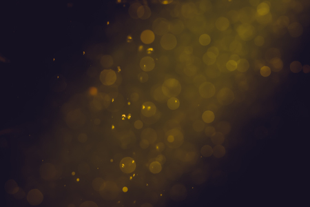 Abstract Gold bokeh for Celebration