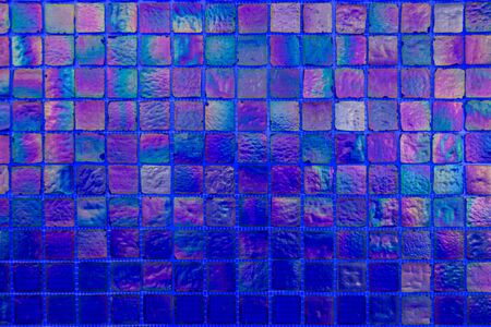 Colorful wall tile wall paper use for background Stockfoto