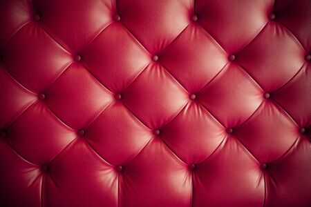 luxury red leather sofa pattern texture background