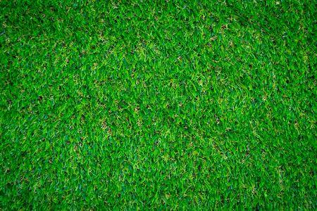 Green artificial grass floor nature background Banque d'images - 129454508