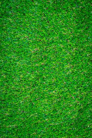 Green artificial grass floor nature background Archivio Fotografico - 129454755