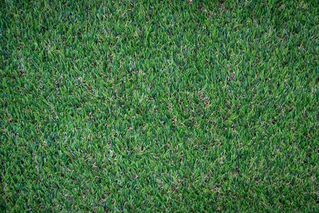 Green artificial grass floor nature background Banque d'images - 130096904