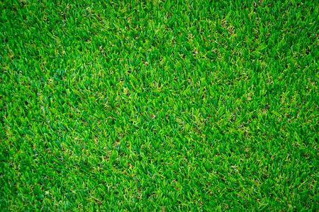 Green artificial grass floor nature background Banque d'images - 130096909