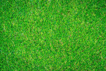Green artificial grass floor nature background Banque d'images - 130097316