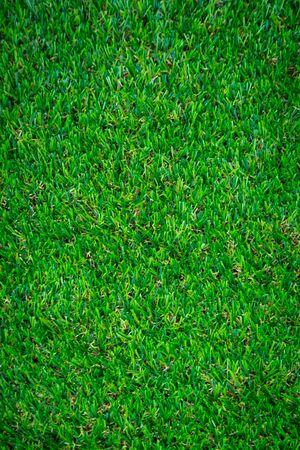 Green artificial grass floor nature background 免版税图像