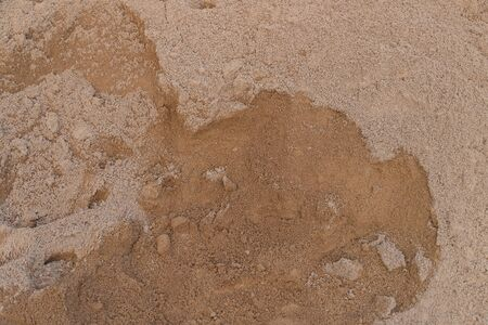 Brown sand texture for construction Stock Photo