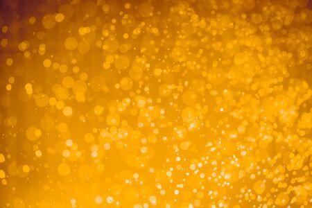 Abstract Golgden christmas Glitter Lights Defocused bokeh background
