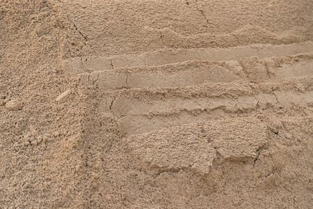 Sand pile for construction texture background
