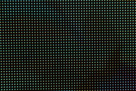 Large RGB LED screen panel texture with bokeh for wallpaper background Reklamní fotografie