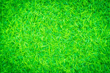 Green artificial grass texture for background