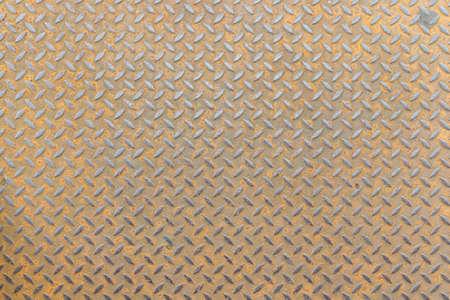 stainless steel floor plate texture background Foto de archivo