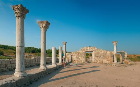 Greek ruins of Chersonesos