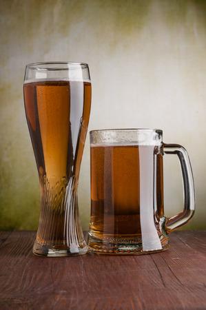 mug of beer on the table