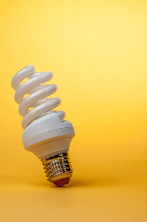 light on colored background