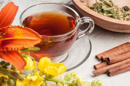 black tea with bear ear