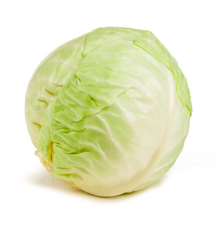 cabbage isolated on white background Stock Photo