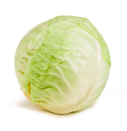 cabbage isolated on white background Stockfoto