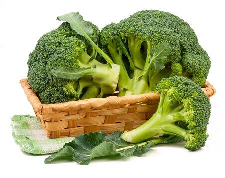 broccoli: broccoli isolated on white background