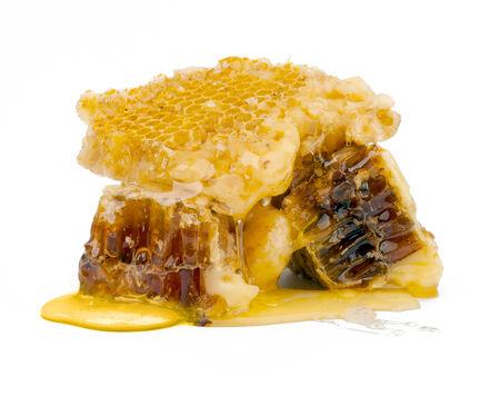 Honey isolated on white background
