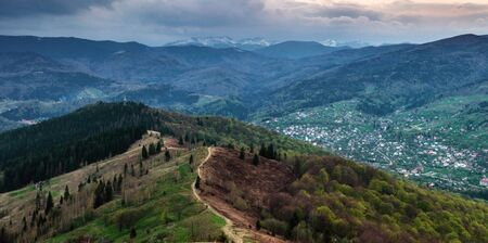 carpathian: Carpathian mountains Makovytsya