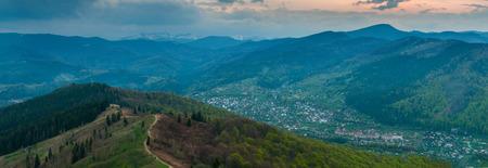 Carpathian mountains Makovytsya