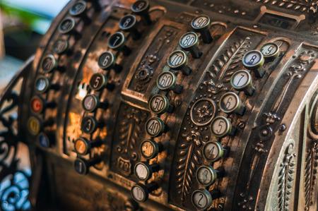 cash machine: antique cash register