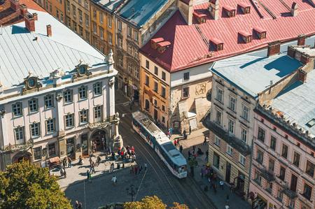 lviv: Lviv street in miniature