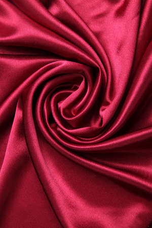 red smooth and elegant satin
