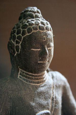photo of a religious icon  buddha Stock Photo