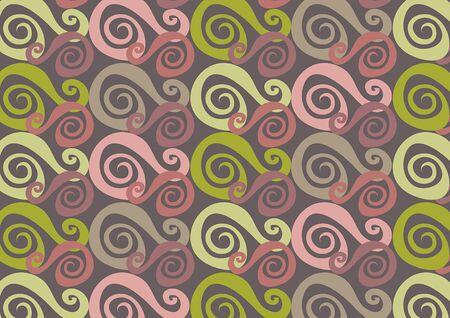 whirly purple and pink (vector) - illustrated background Stock Vector - 1476963