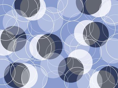 dark gray line: skinny retro anillos en Azul