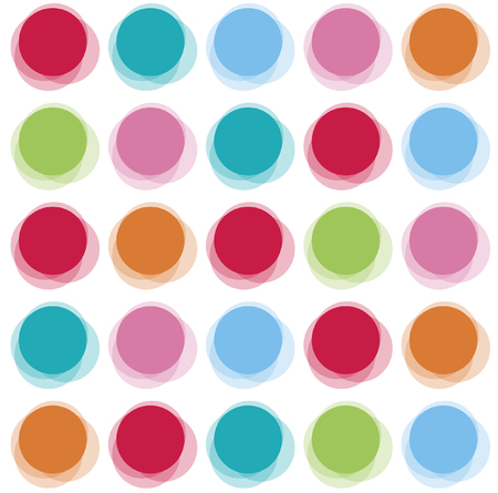 dots: blur color party dots Illustration