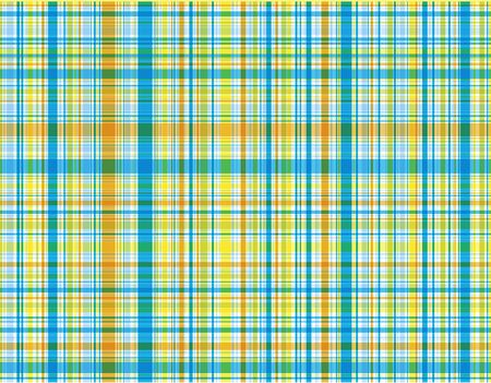 blue plaid - illustrated pattern  background  art  graphics Vector