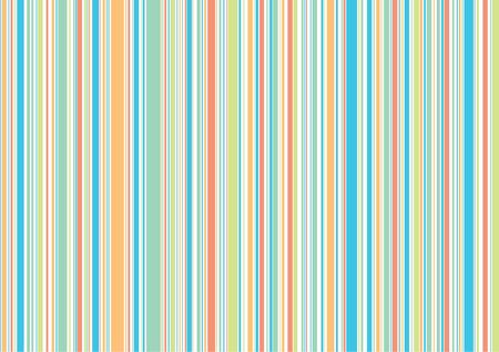r�tro vacances � la plage bleu bandes orange - illustr� arri�re-plan