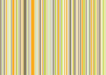 retro orange brown green stripes / illustrated background pattern Stock Vector - 1827248