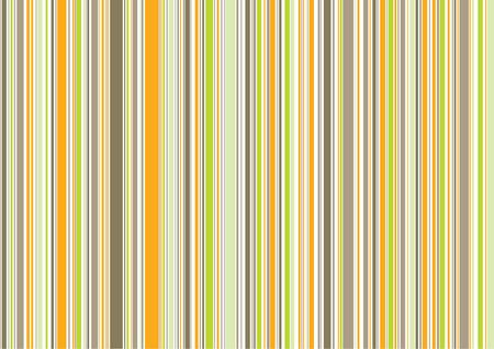 straight a: retro orange brown green stripes  illustrated background pattern