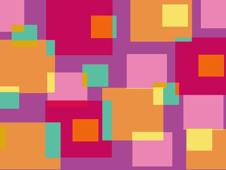 fun pink and purple cubes background Vector