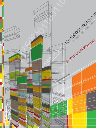 architecture abstract graphic