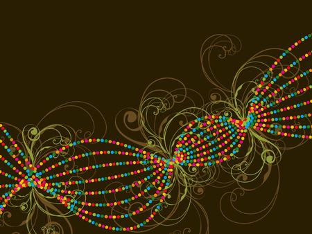 couleur des lignes pointill�es et tourbillons r�sum�