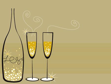 champagne celebration: champagne bubbles celebration