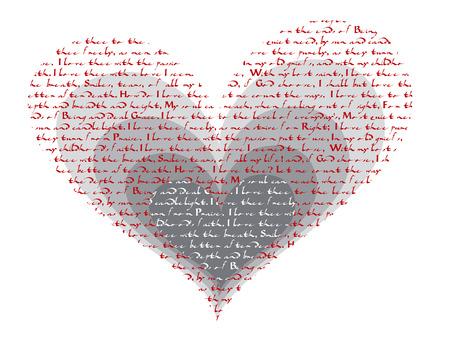 how: c�mo lo hace el thee del amor de i - valentine del poema Vectores