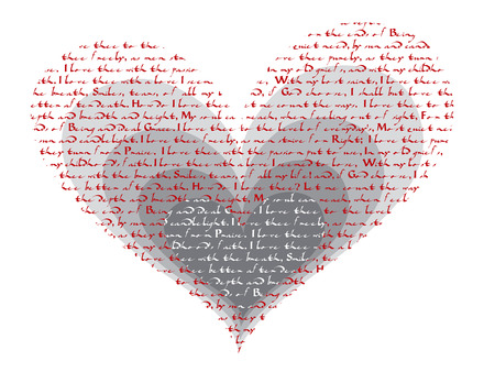 how do i love thee - poem valentine Vector