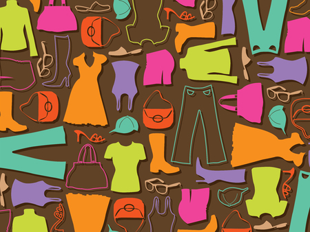 colorful fashion pattern (vector)